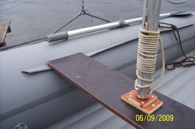 крепежный канат лодки