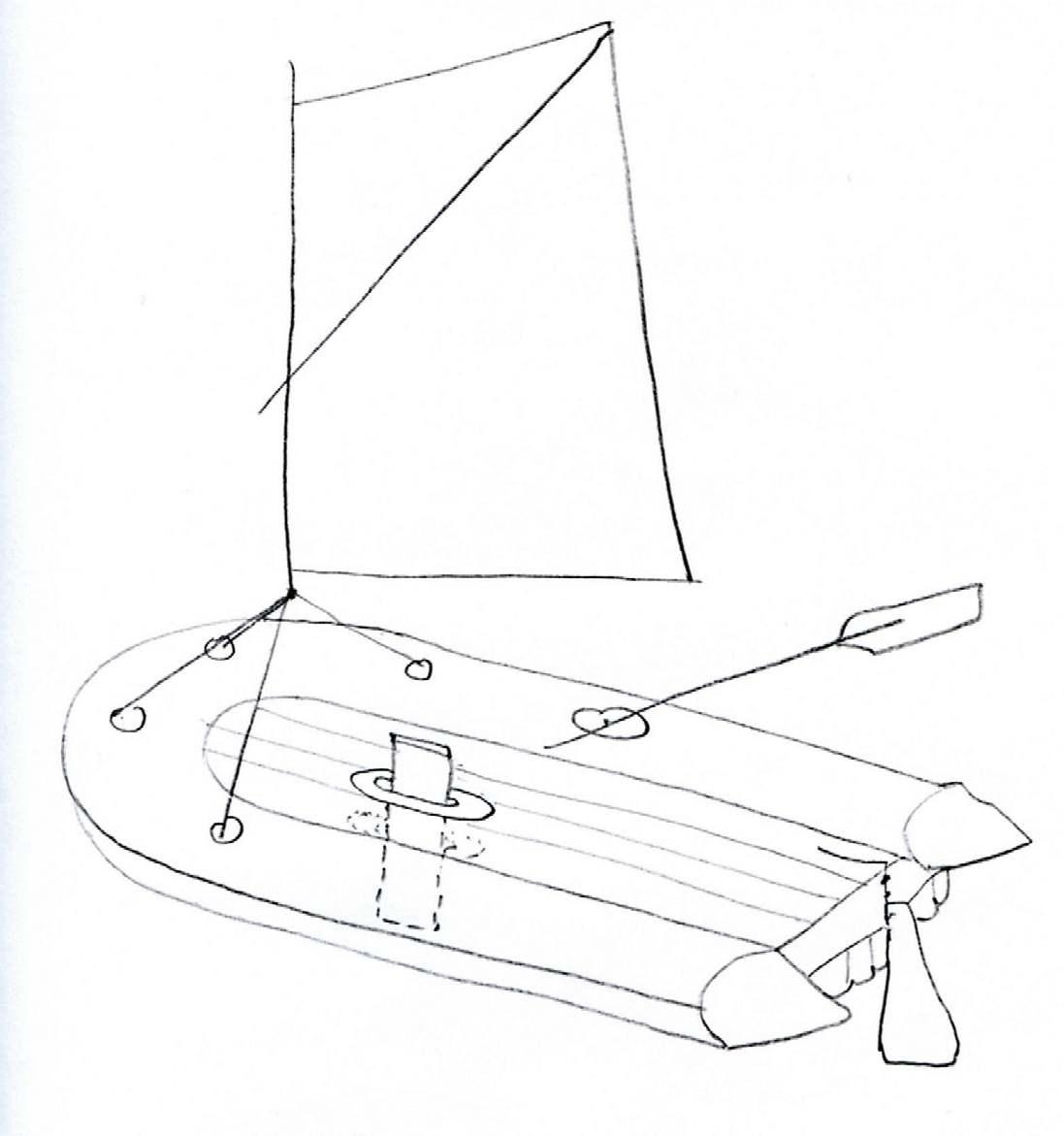 эскизы надувных лодок